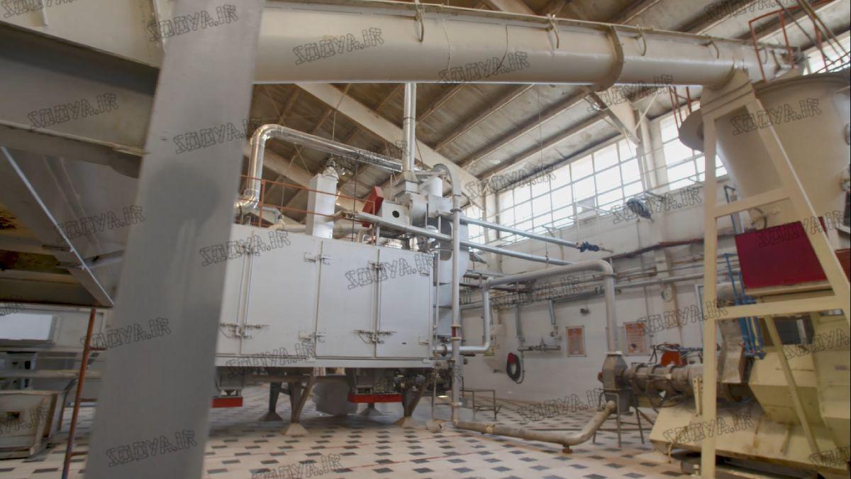 کارخانه تولید پروتئین گیاهی سویا