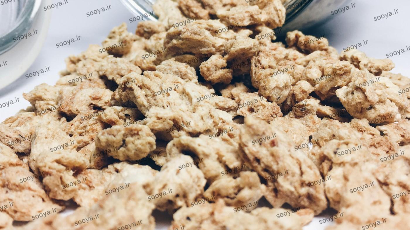 پروتئین سویا خوراکی